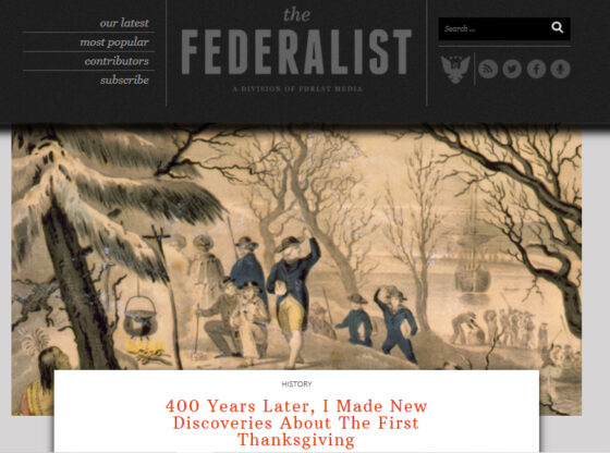 Federalist Thanksgiving