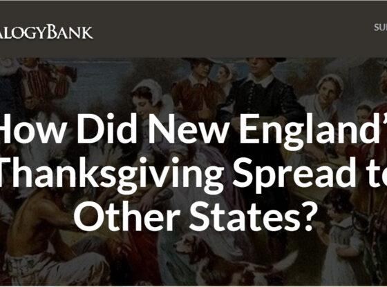 New England Thanksgiving