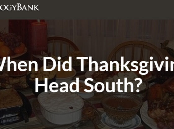 Thanksgiving Headed South