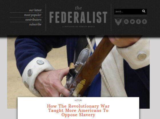 Federalist Revolutionary War
