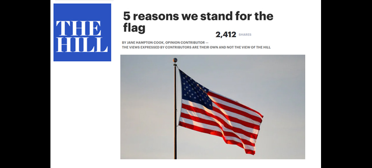 Why We Stand for the Flag