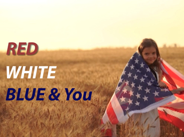 Red, White, Blue & You