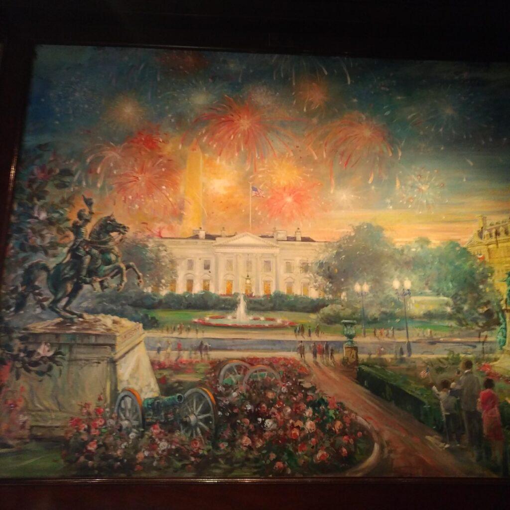 White House mural