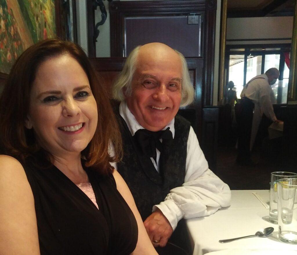 Jane with Albert Gallatin